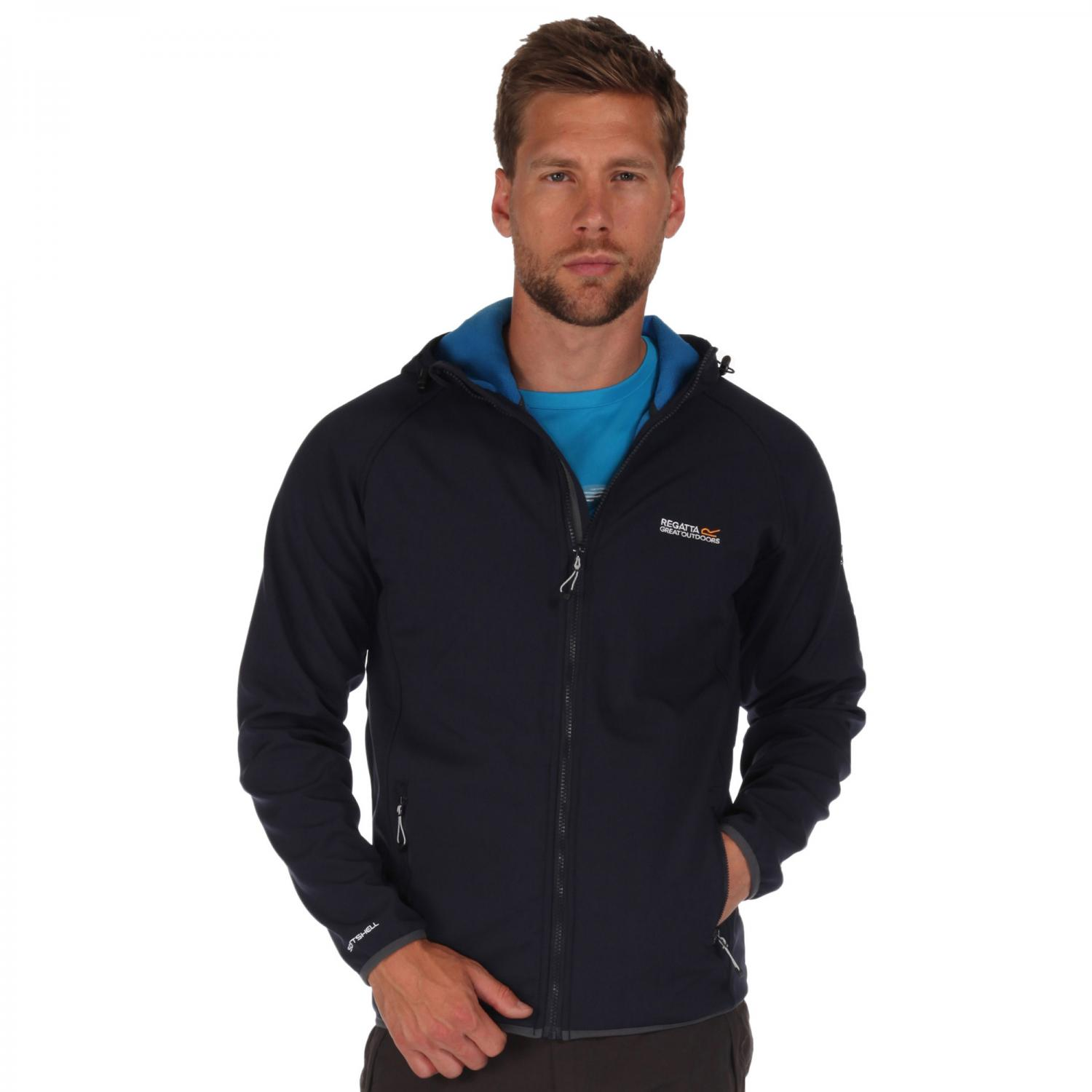 Arec Softshell Jacket Navy Blue