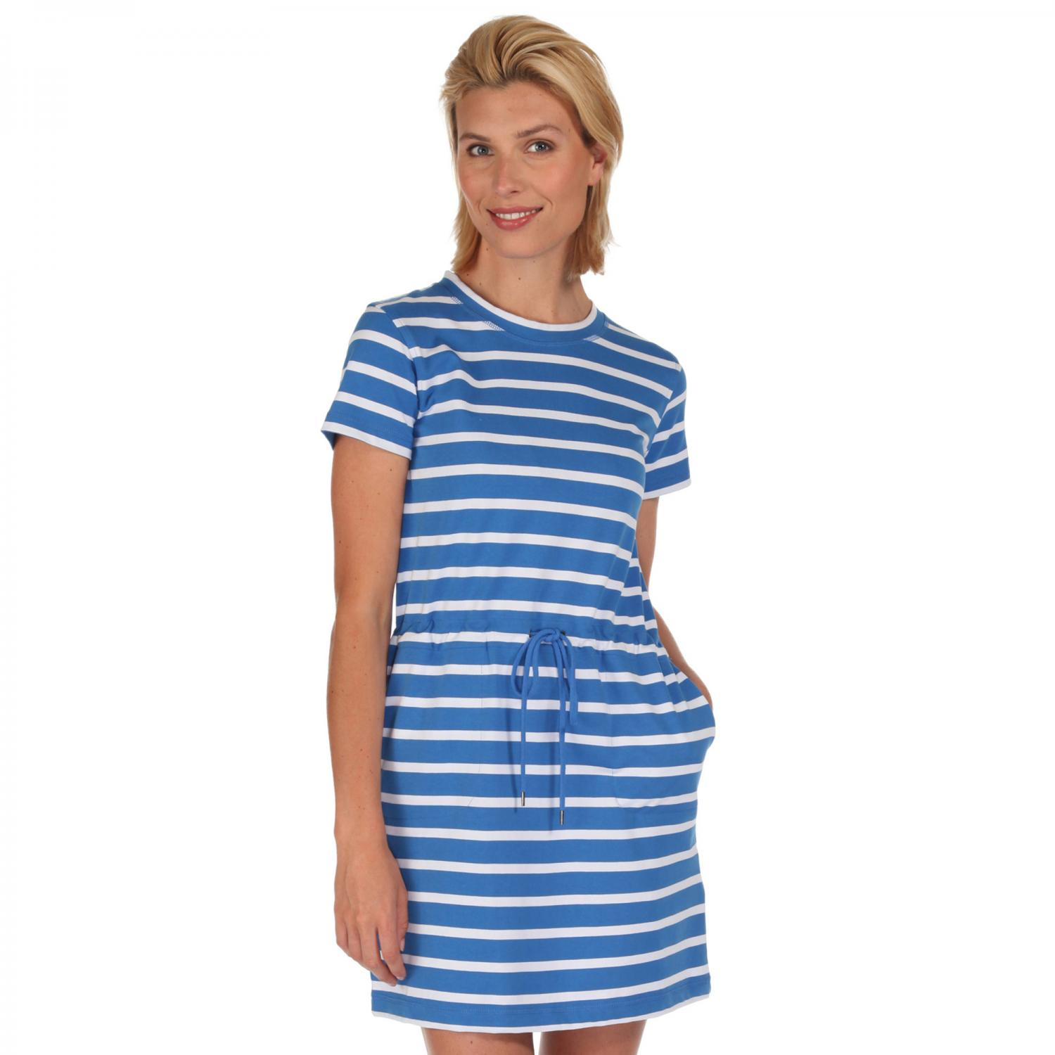 Harissa Dress Strong Blue
