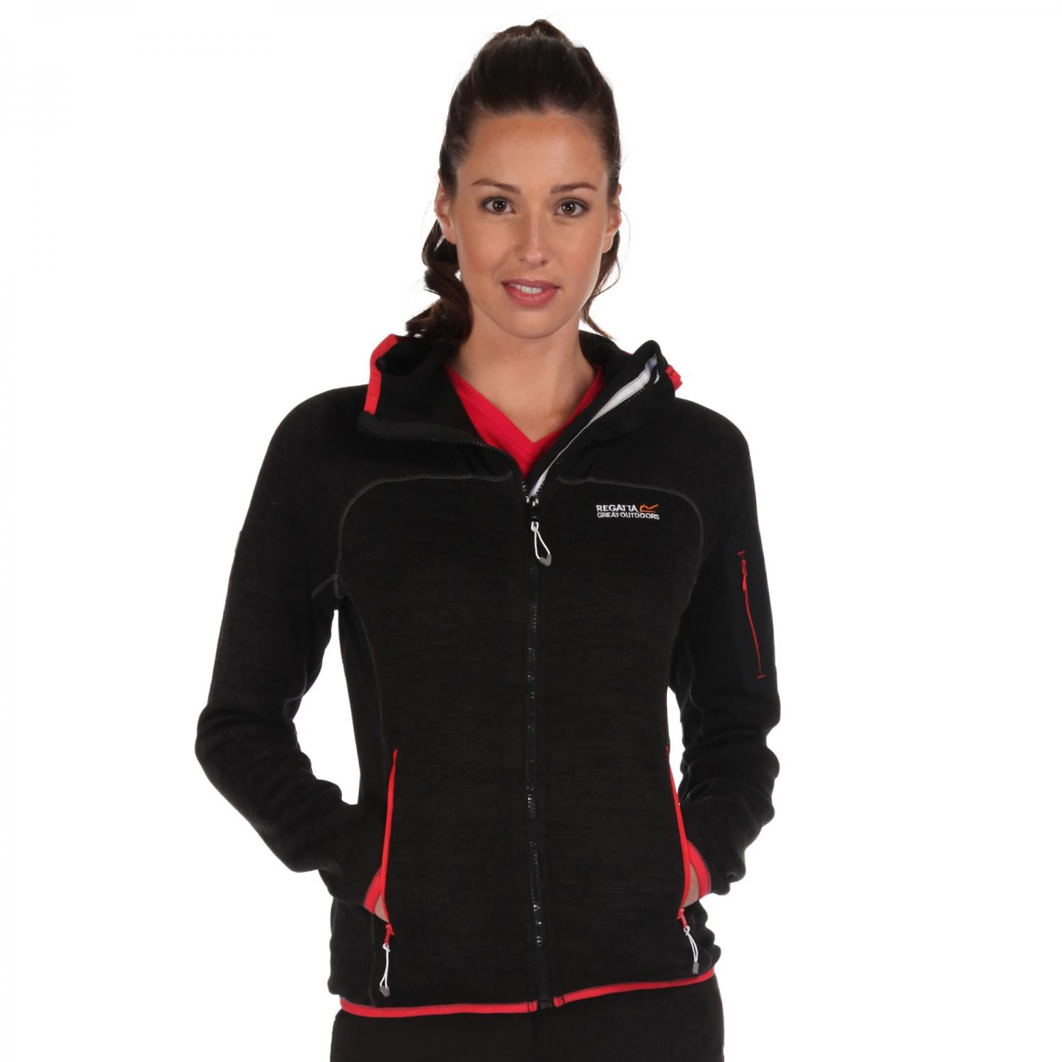 Willowbrook II Hooded Fleece Black