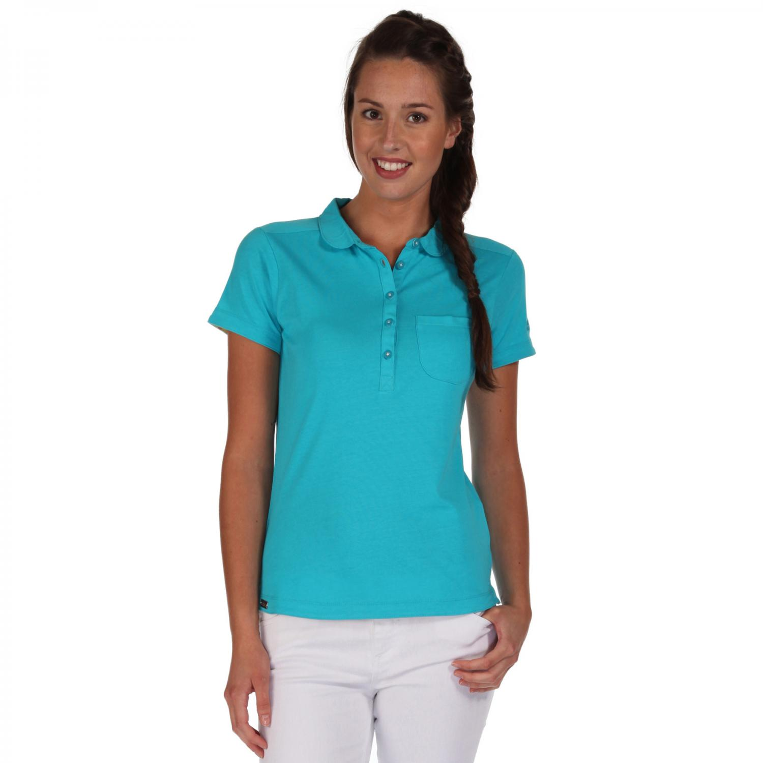 Fortunella Polo Shirt Aqua