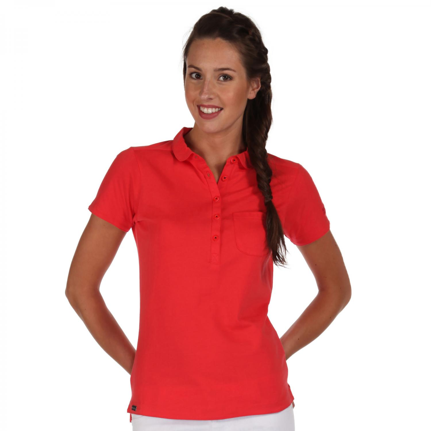 Fortunella Polo Shirt Coral Blush