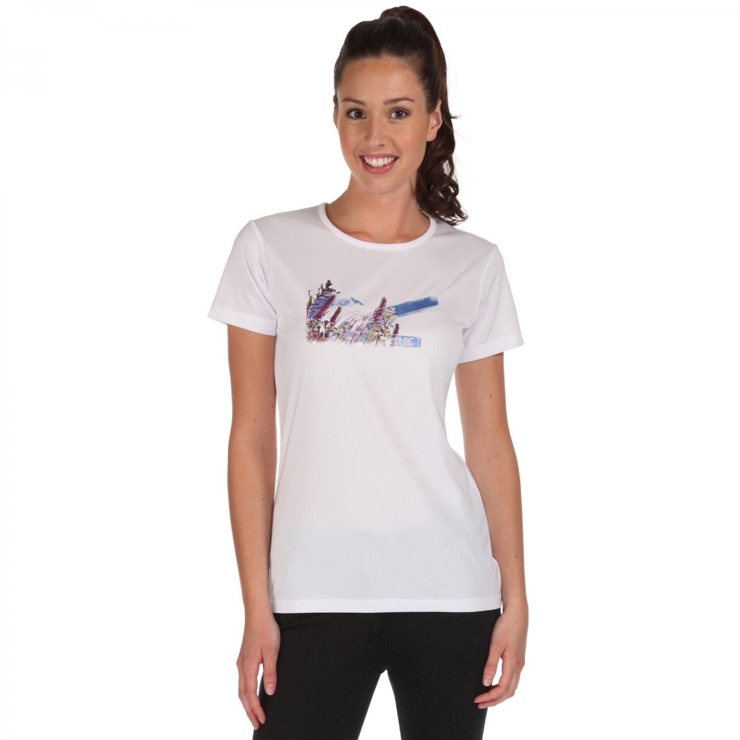 Womens Fingal T-Shirt White