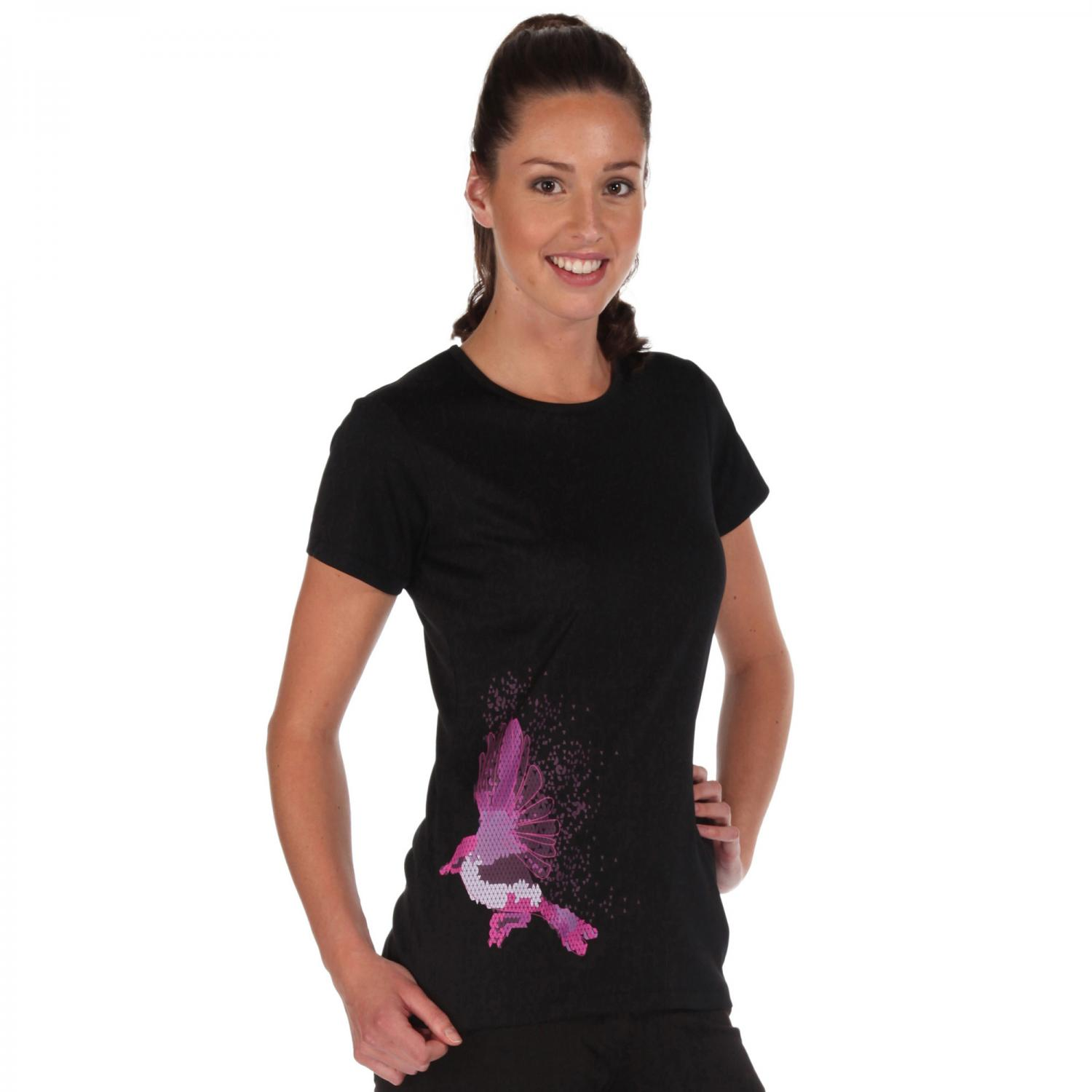 Womens Fingal T-Shirt Black