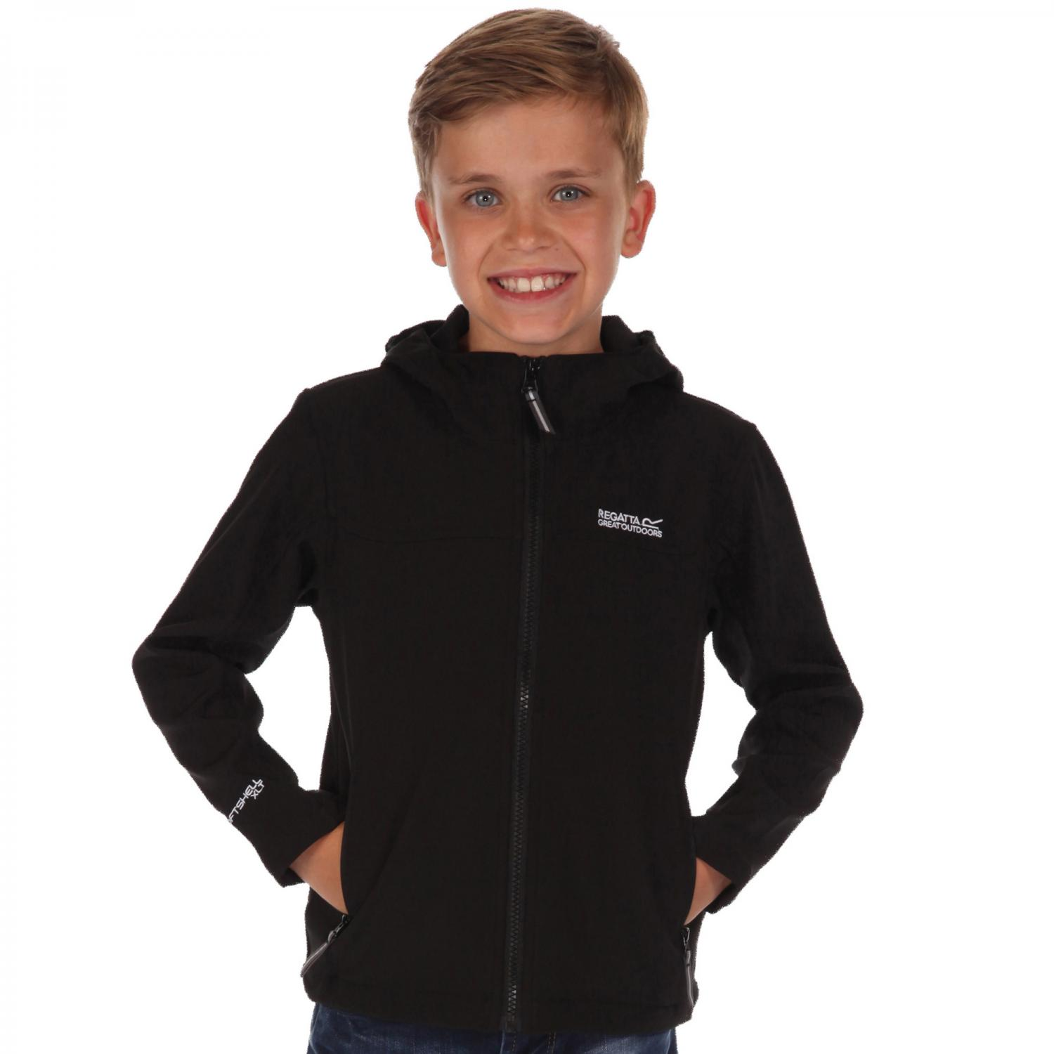 Tyson II Softshell Jacket Black