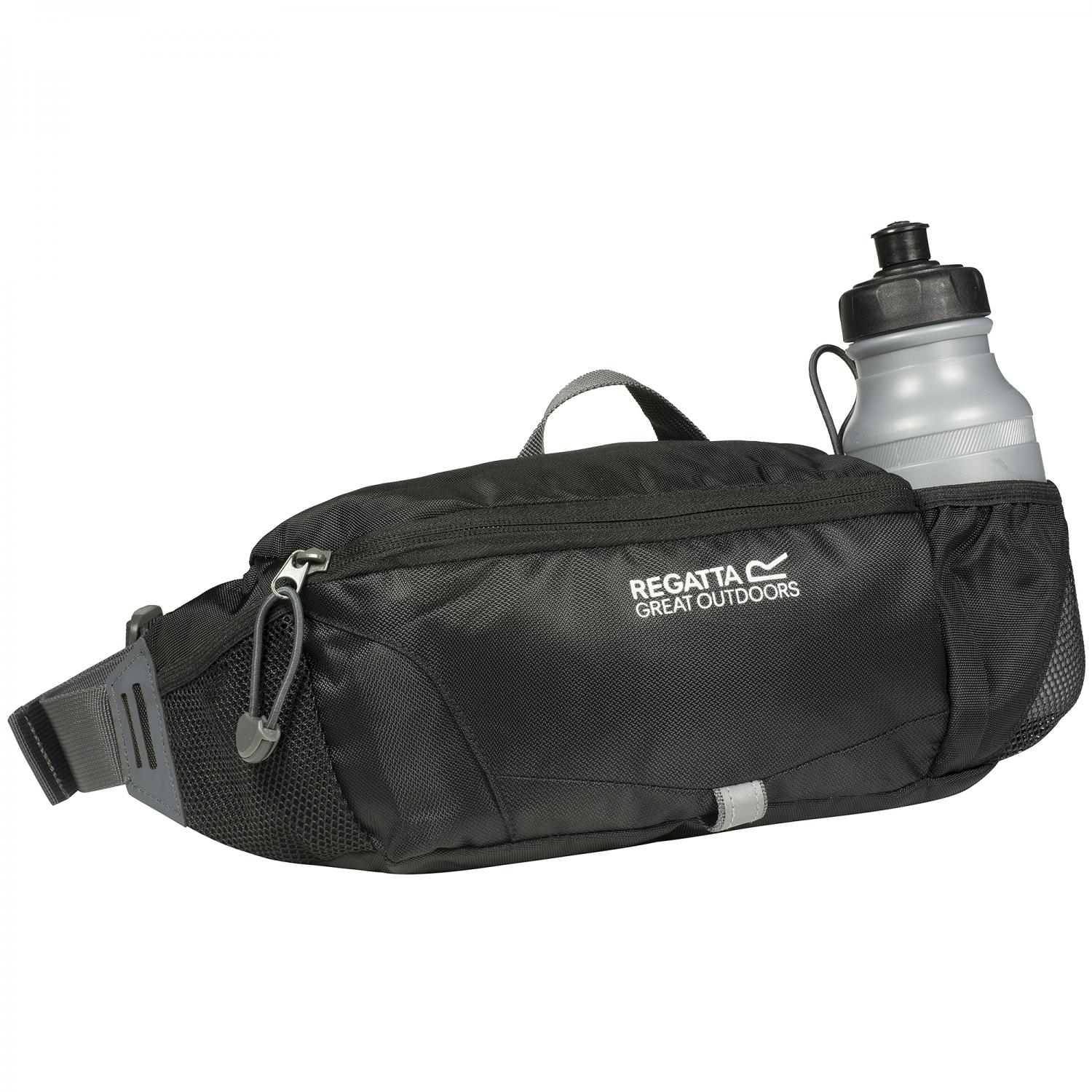 Quito Bottle Hip Pack Black