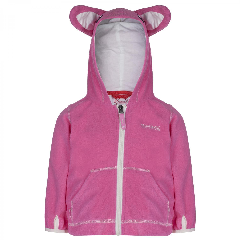Kiddo Fleece Hoody Pretty Pink