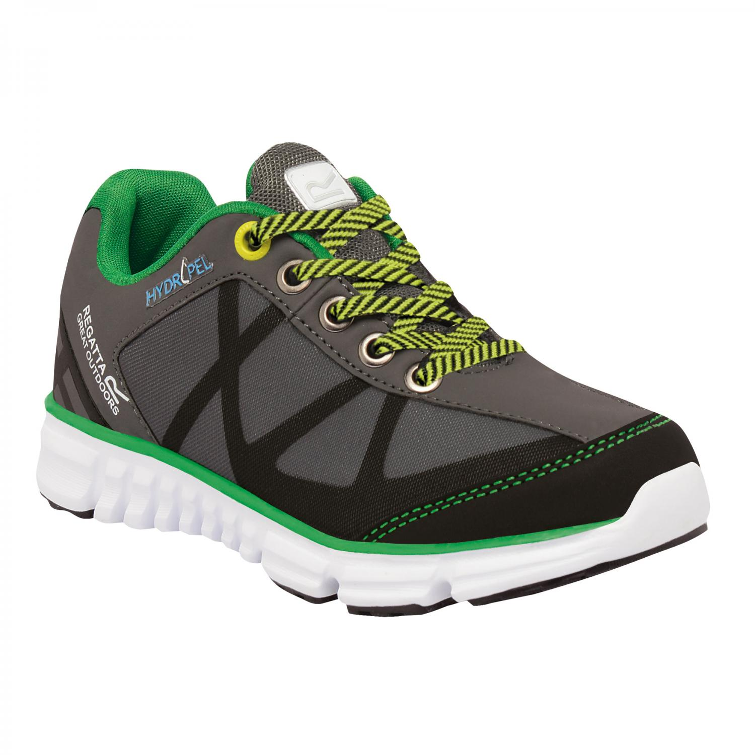 Hyper-Trail Low Junior Shoe Charcoal Green