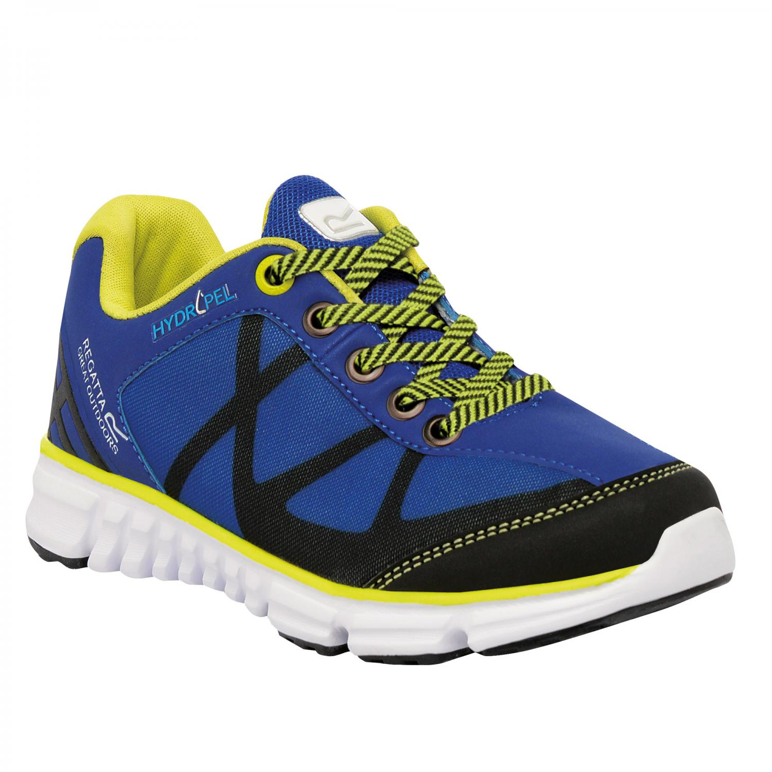 Hyper-Trail Low Junior Shoe Blue Neon