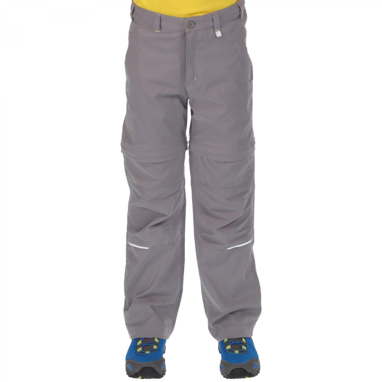 Heathtek Stretch Zip Off Trousers Grey