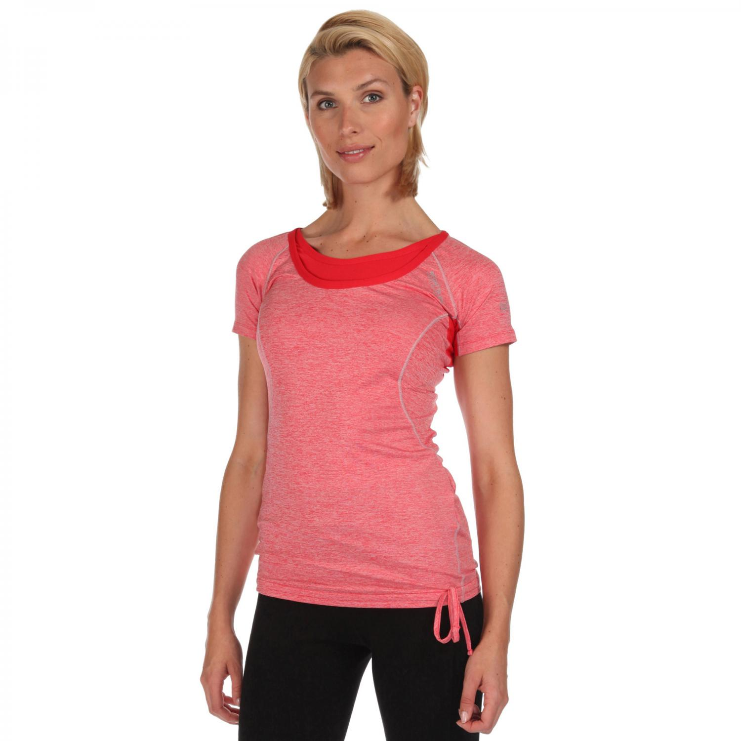 Womens Breakbar II T-Shirt Coral Blush