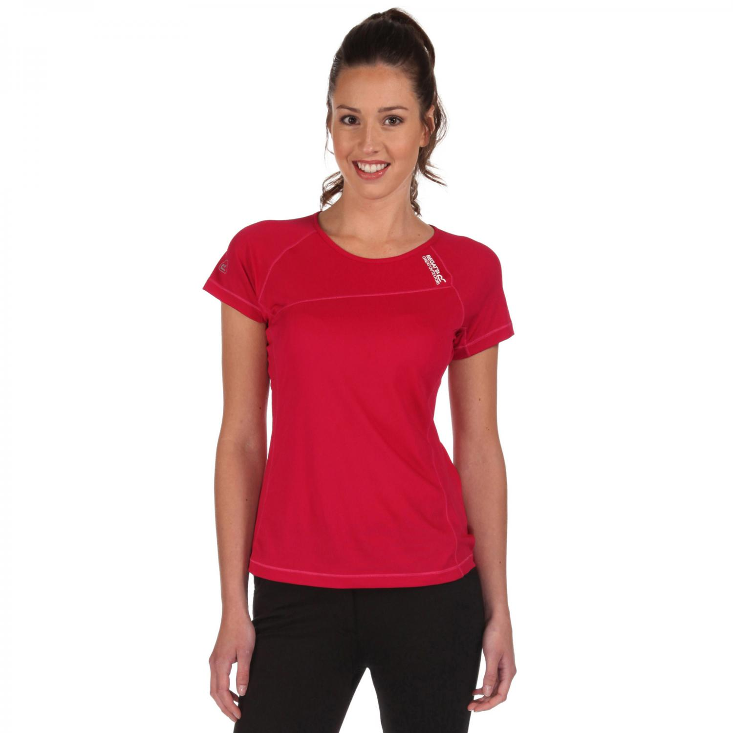 Womens Volito T-Shirts Dark Cerise
