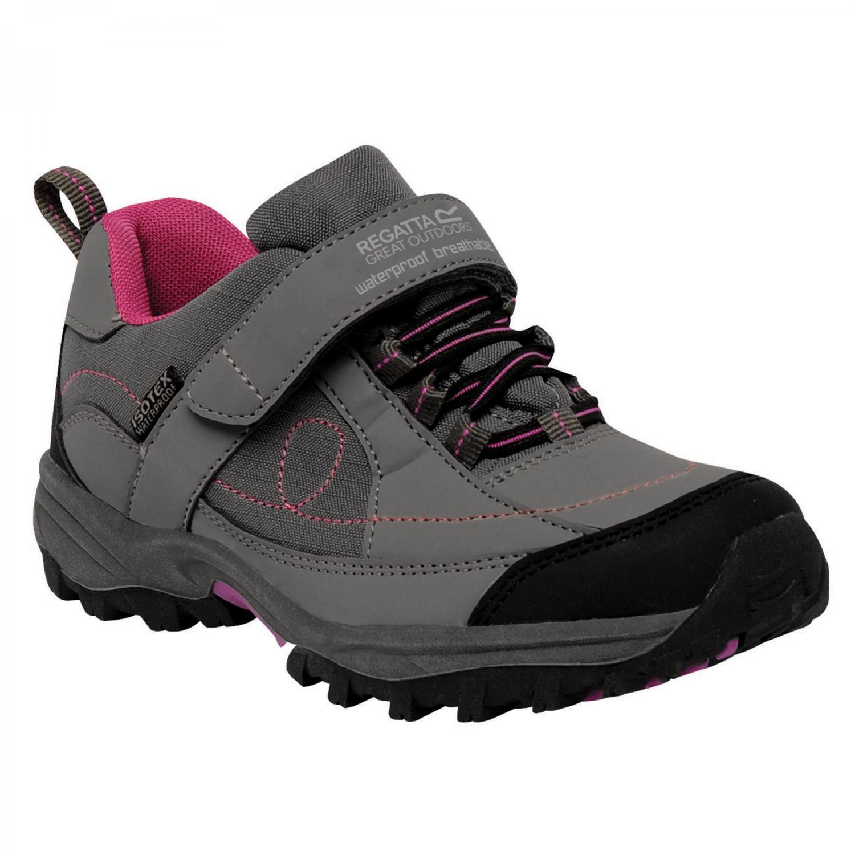 Shoes Girls Trailspace Low Junior Trail Shoes Granite Viola