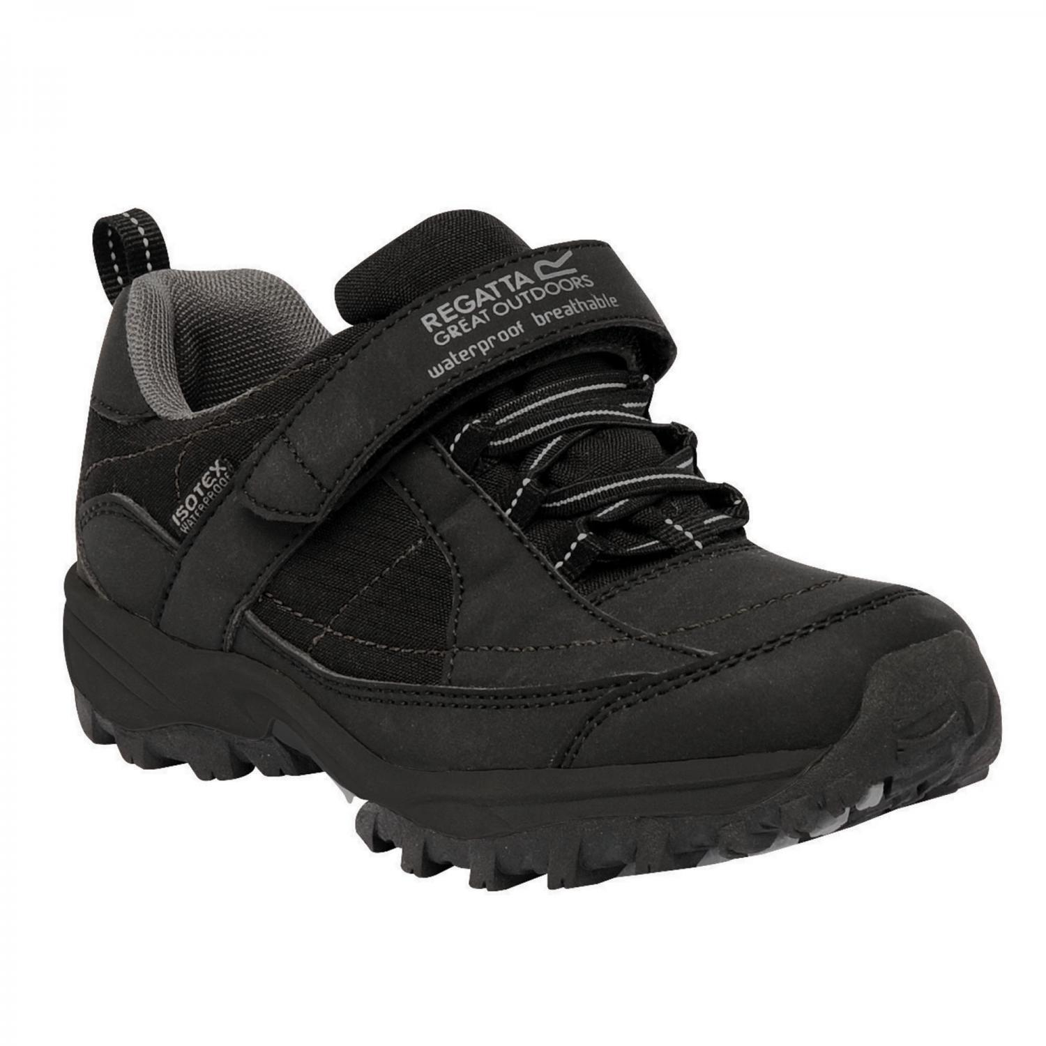 Shoes Boy Trailspace Low Junior Trail Shoes Black Pigeon