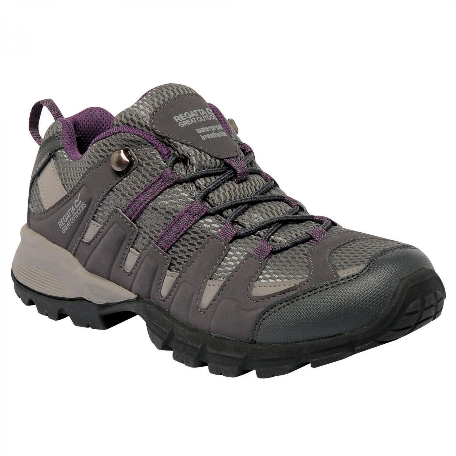 Lady Garsdale Low Trail Shoe Shark Black