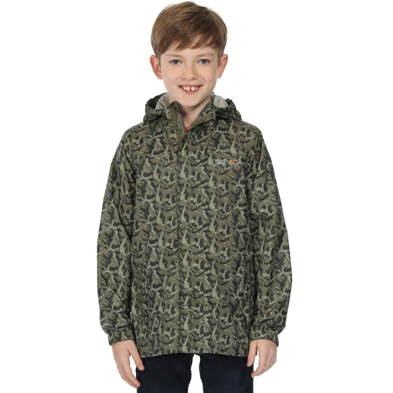 Kids Printed Pack It Jacket Fauna