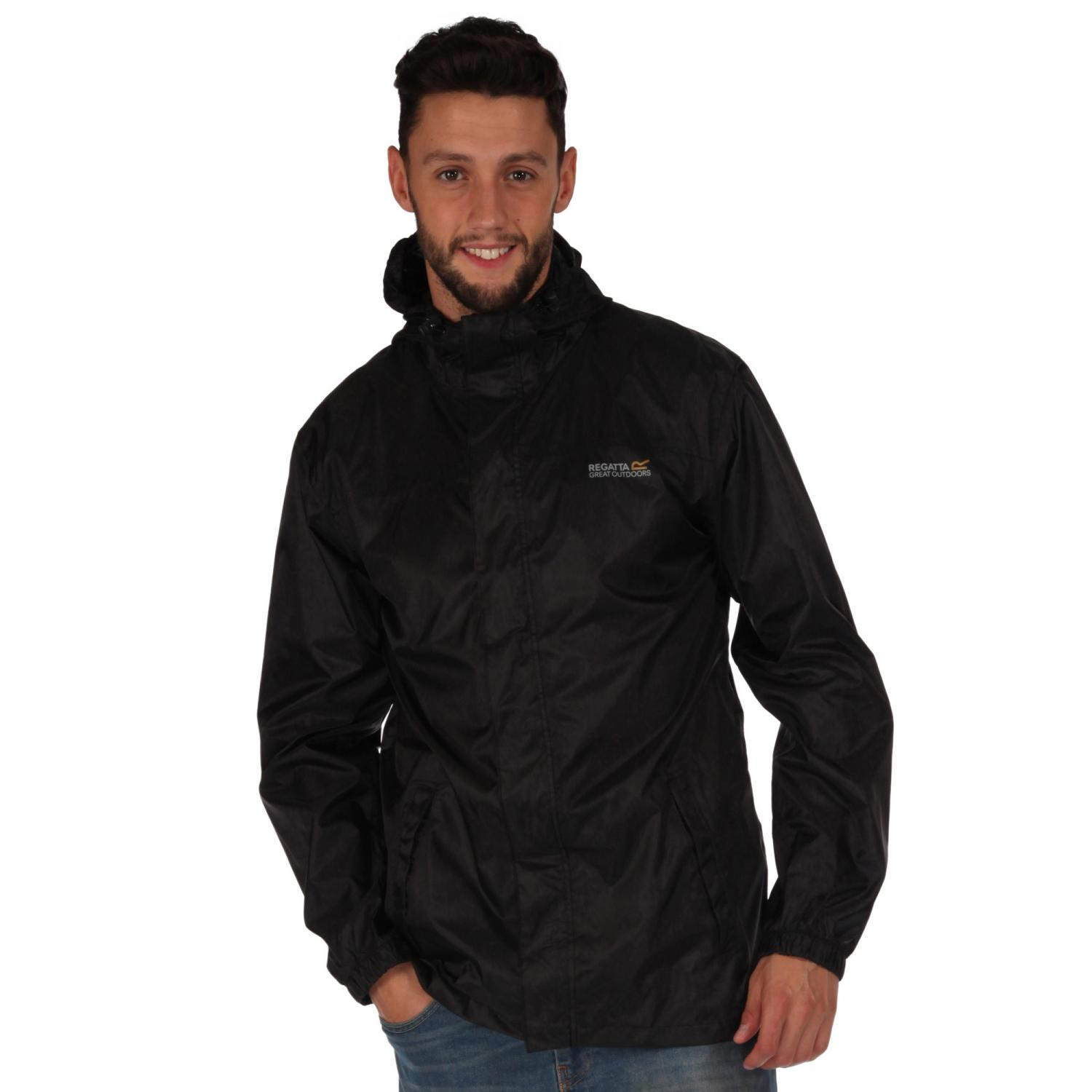 Mens Pack It Jacket II Black