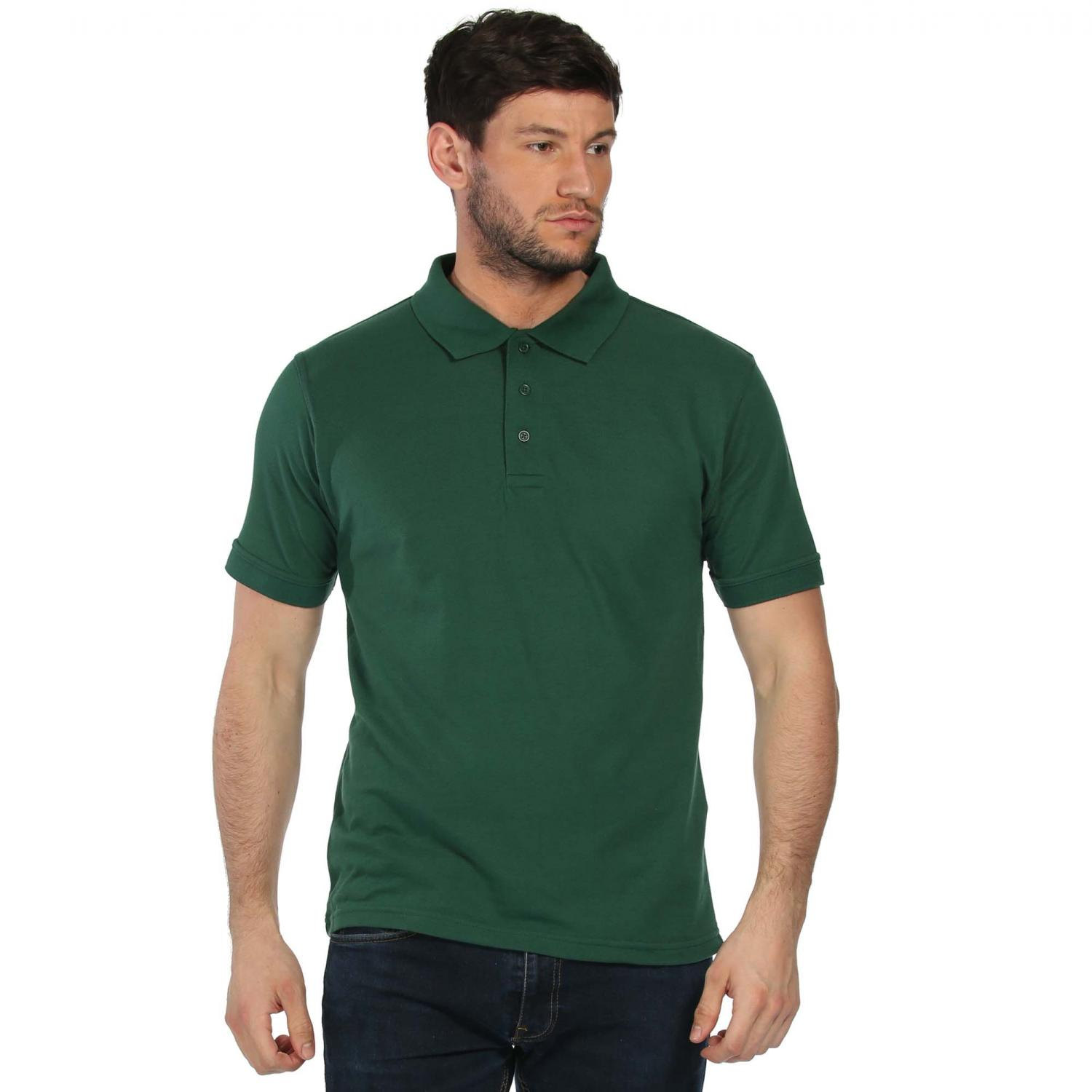 Classic 65 35 Polo Shirt Bottle Green