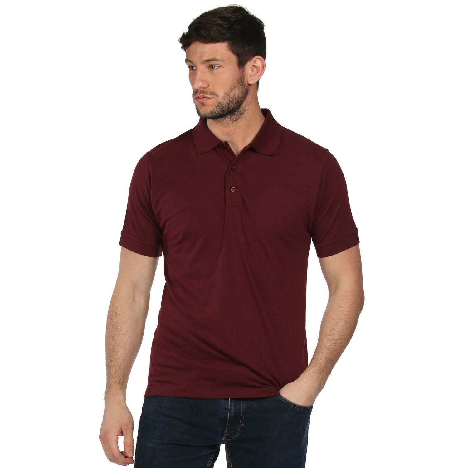 Classic 65 35 Polo Shirt Burgundy