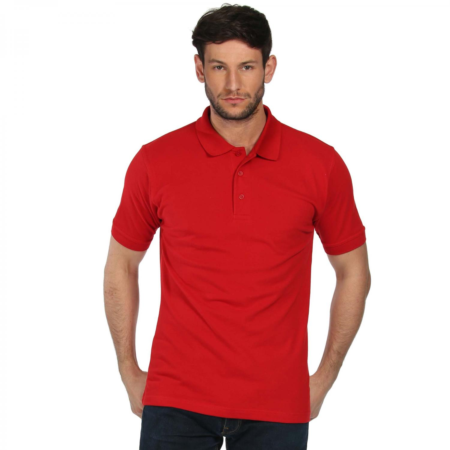 Classic 65 35 Polo Shirt Classic Red