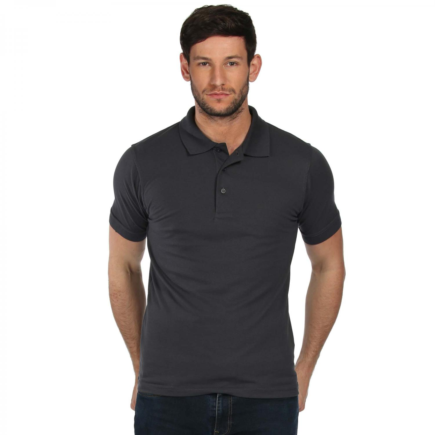 Classic 65 35 Polo Shirt Seal Grey