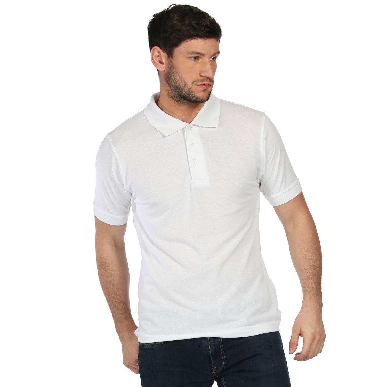 Classic 65 35 Polo Shirt White