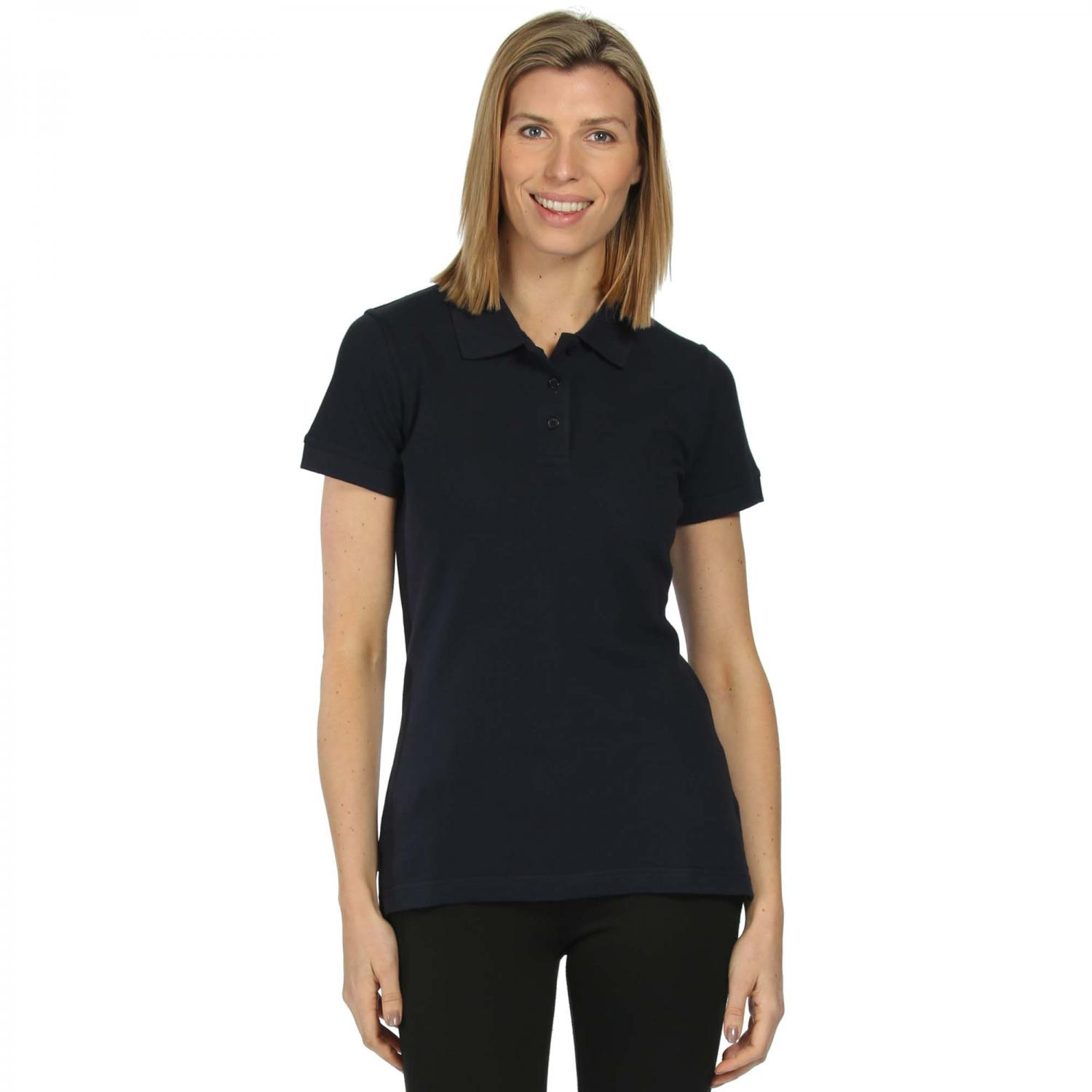 Womens Classic 65 35 Polo Shirt Navy