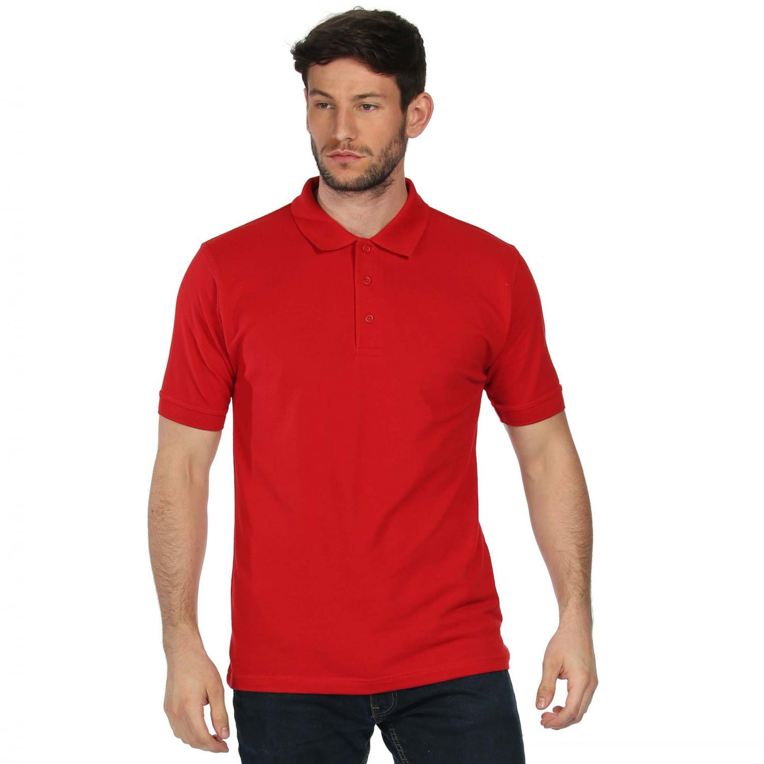 Classic Cotton Polo Shirt Classic Red