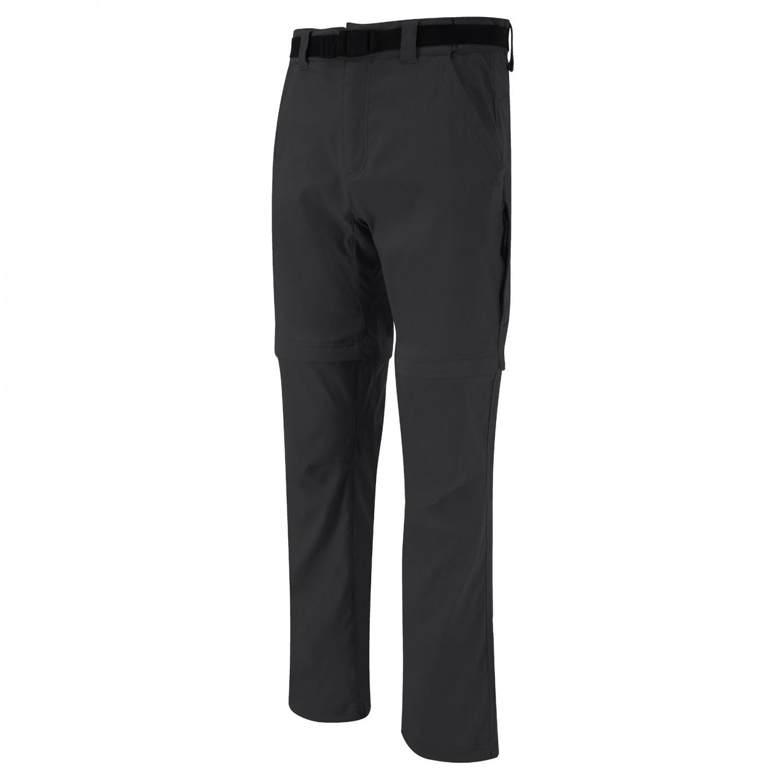 Men's Sportswear NosiLife Stretch Convertible Trousers Black Pepper